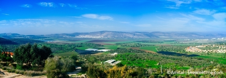 Holyland Series - Lower Galilee Panorama#1