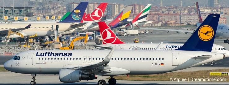 D-AIUA Lufthansa , Airbus A320-214