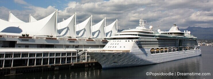 Canada Place with Cruise Ship