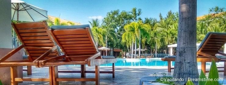 Traveling Vietnam Swimming Pool Resort
