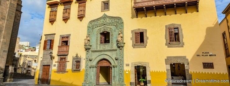 Casa de Colon (The house of Christopher Columbus), Las Palmas, Gran Canaria, Spain