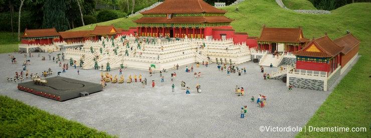 The Forbidden City Lego Model