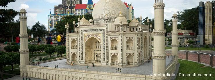 Taj Mahal lego model
