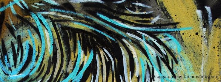Graffiti piece in Oslo