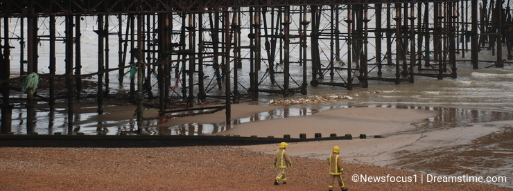 Hastings pier fire