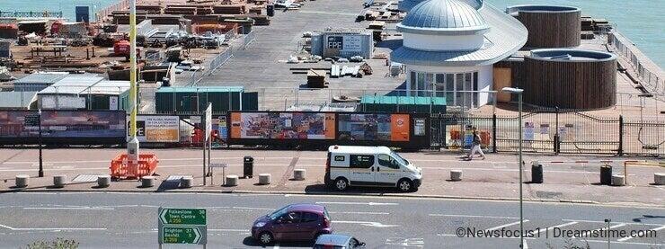 Rebuilding Hastings pier