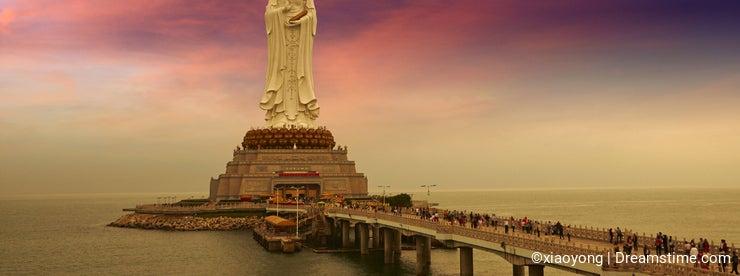 The Guan Yin Buddha statue, Sanya, China