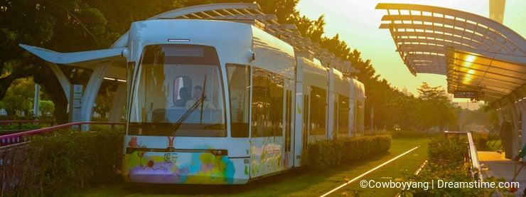 Urban public transport facilities