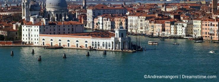 Venice - The Madonna della Salute Church and the Grand Canal