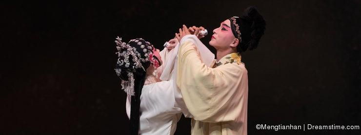 "cross-cupped wine-The third act Male Yellow Wine-Kunqu Opera""Madame White Snake"""