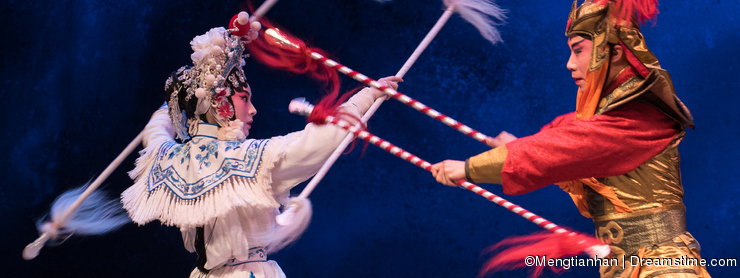 """Silver spear-The sixth act water overflows golden hill-Kunqu Opera""""Madame White Snake"""""""