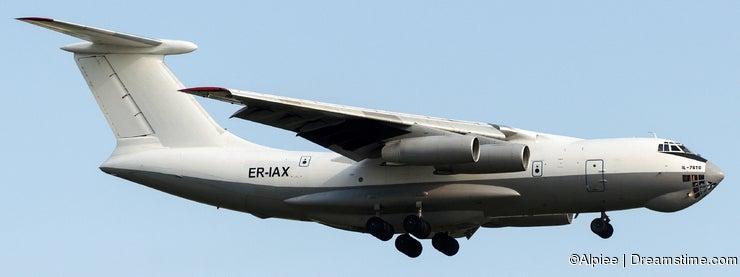 ER-IAX Oscar Jet Cargo, Ilyushin 76-TD