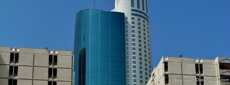 Ascott Park Palace 56 floor height Skyscrape and two 15 floor buildings Dubai
