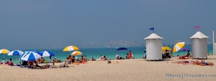 Dubai JBR beach