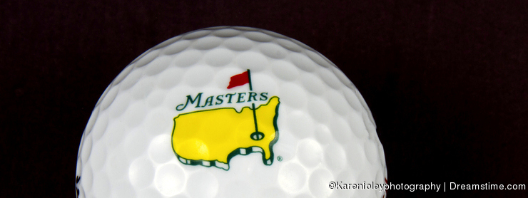 The Masters Tournament Golf Ball