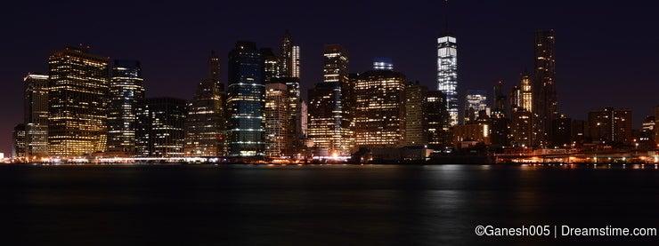Newyork Skyline at Night