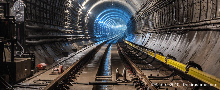 New subway tunnel