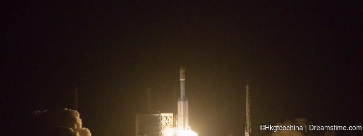 China's Changzheng space Rocket CZ-7