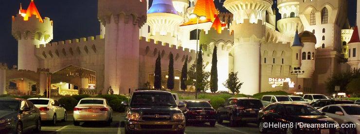 Las Vegas City Night View, Nevada