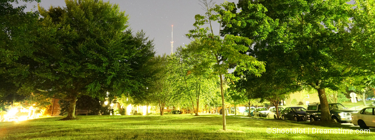 Starry Summer Night in Washington DC