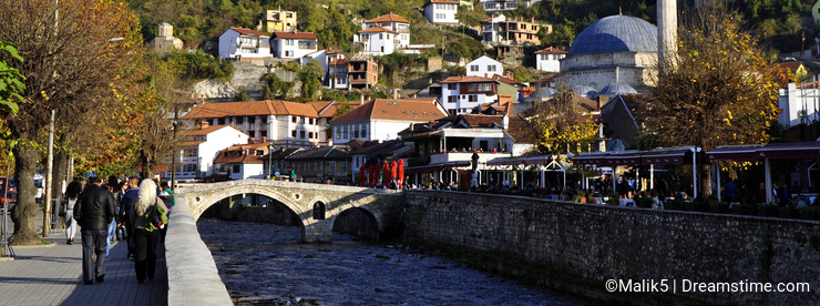 Prizren, modern and historic city
