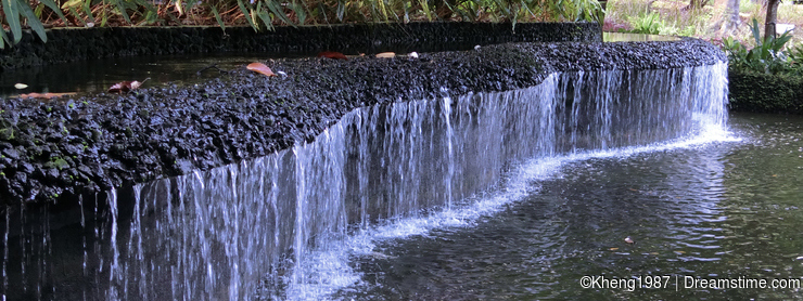 Waterfall in Botanic Gardens
