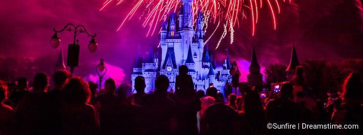 Magic Kingdom fireworks 11