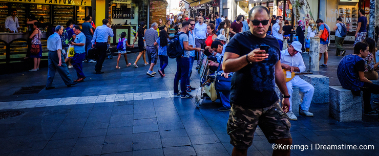 Streets And People Of Istanbul