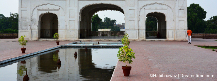 Ancient Shalimar Garden Lahore built by the Mughal emperor Shah Jahan
