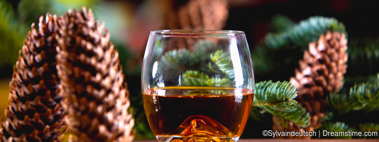 Whisky at Christmas