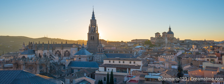 The medieval city of Toledo