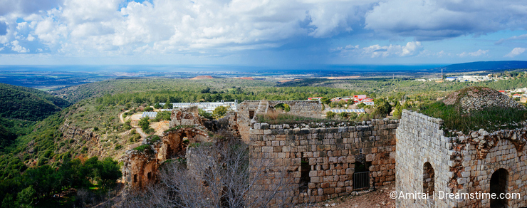 Holy land Series -Yehi`am Fortress National Park 7