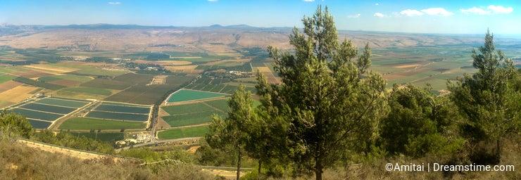 Holyland Series -Hula Valley Panoram