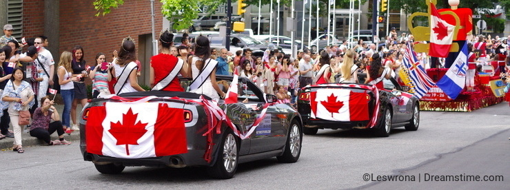 Multicultural Canada Day celebrations