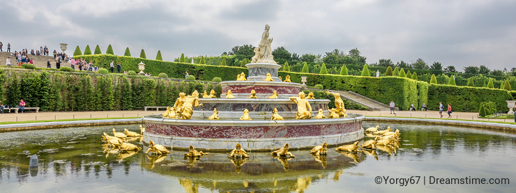 In Versailles Gardens