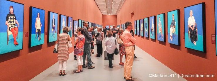 David Hockney exhibition