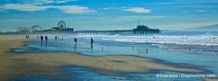 Santa Monica Pier Landscape