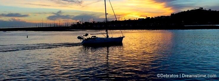Sunset Santa Barbara California