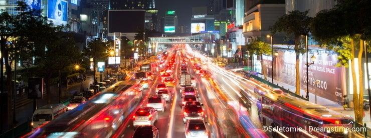 BANGKOK, THAILAND - OCTOBER 13, 2016: View at the Siam square ni