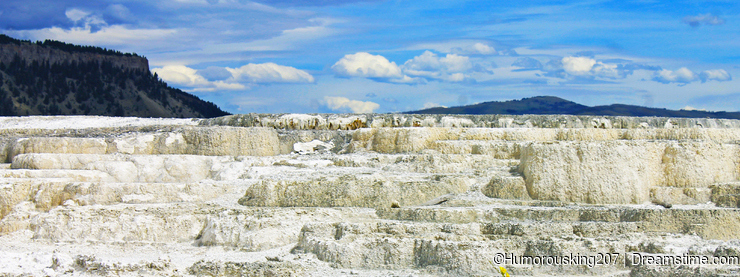Mammonth Hot Spring, Yellowstone