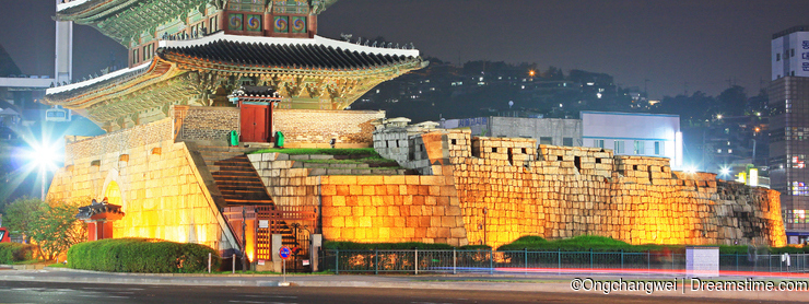 Korea Seoul Heunginjimun Gate