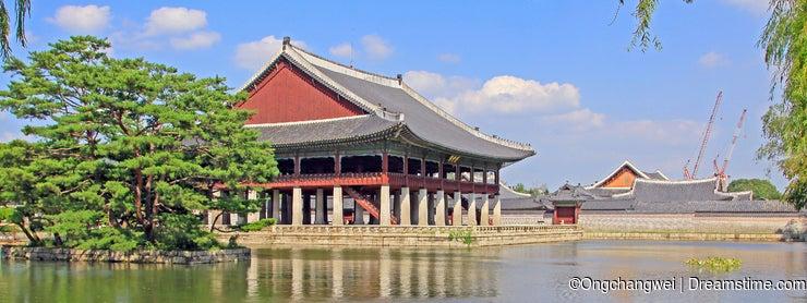 Korea Seoul Gyeongbokgung Palace, Gyeonghoeru