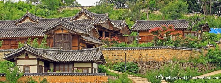 Korea UNESCO World Heritage - Gyeongju Yangdong Village