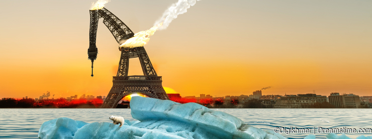 Icebergs in Paris