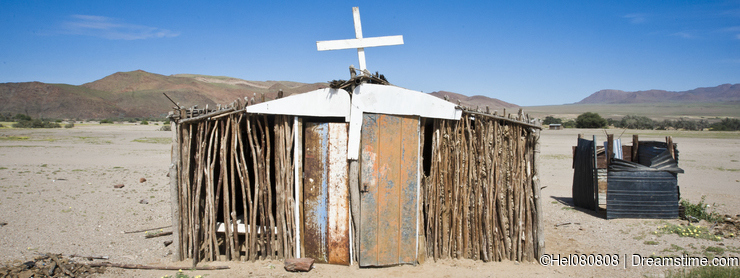 Namibia - small church