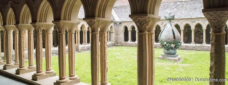 Cloister Iona Abbey