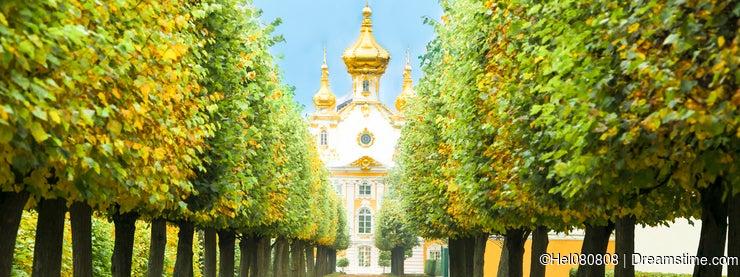 Chapel in Peterhof