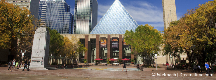 EDMONTON, CANADA - SEPTEMBER 13, 2016: Edmonton s City Hall on 1