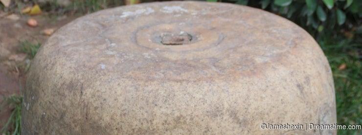Shi-ku Garden in China NO.2 stone carving