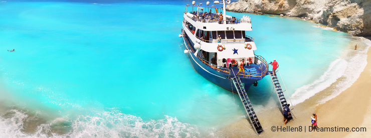 Cruise Ship, Summer Vacation, Greek Islands